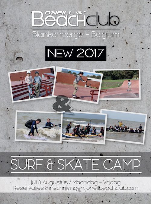 NIEUW 2017: SURF & SKATE CAMP