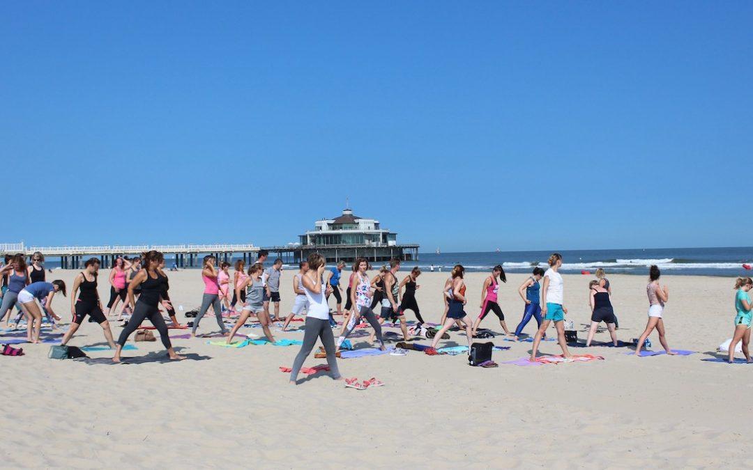 Yoga on da Beach