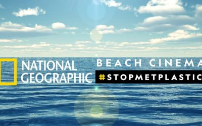 BEACH CINEMA  #stopmetplastic
